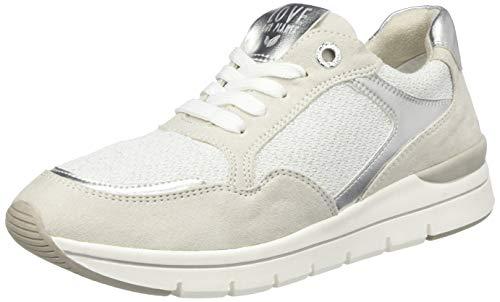 MARCO TOZZI 2-2-23716-24, Zapatillas Mujer, Color Blanco Comb 197, 38 EU