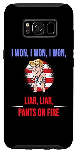 Galaxy S8 I WON, Funny Trump Temper Tantrum We all call out Liar Liar Case