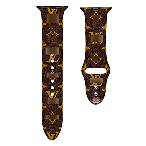 Luxury Watch Band Compatible with A pple Watch,All Series 42mm 44mm for iWatch SE Series 6/5/4/3/2/1