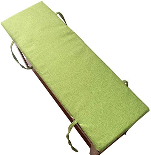 Outdoor Indoor Cushion Long Bench Cushion Window Cushions Garden Seat Cushions Garden Pallet Cushions Garden Furniture Cushions (Green 120x30cm)