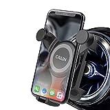 Cailin Soporte para teléfono móvil ventilado Circular para Coche Gravedad automática Ajustable para Mercedes Benz A B C E S Class