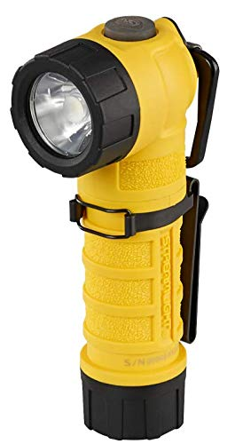 Streamlight 88836 PolyTac 90X USB 500 Lumens Multi-Fuel Right-Angle Rechargeable Flashlight, SL-B26 Battery Pack & USB Cord, Yellow, Box Packaged