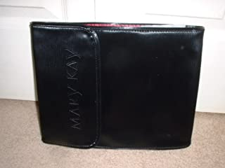 Mary Kay ORIGINAL BLACK Travel Roll Up Bag ~ 4 Removable Pouches + Hanger To Hang Anywhere!