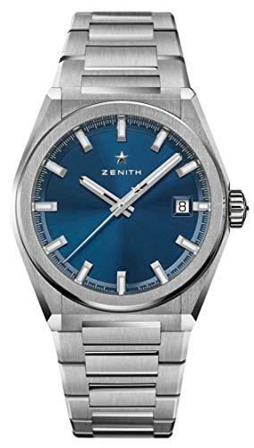 Zenith Defy Classic Blue Dial Titanium Watch 95.9000.670/51.M9000