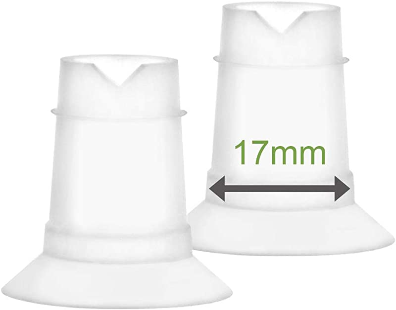 Maymom Flange Inserts 17 Mm For Freemie 25 Mm Collection Cup 2pc Each