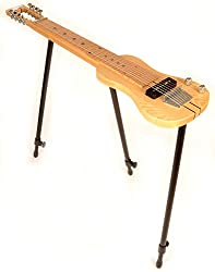 top rated SX LAP 8 NAT 8-string lap steel guitar. The stand and pouch can be freely removed. 2021
