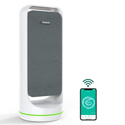 TENDOMI WiFi Smart Air Purifier with True HEPA, Fan Air Purifiers for Home, Bedroom, Office,...