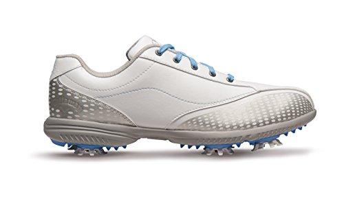 Callaway Callaway Halo Pro Golf-Schuhe Damen, Damen, weiß/blau, 37 (W)