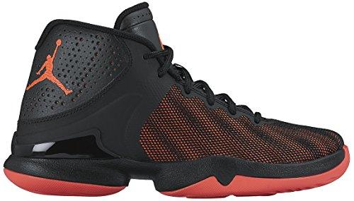 Nike Jordan Super.Fly 4 PO BG, Scarpe da Basket Uomo, Nero/Rosso/Antracite (Black Infrared 23 Anthracite), 36.5 EU