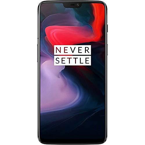 OnePlus 6 A6000 Dual-SIM (128GB Storage | 8GB RAM) Factory Unlocked 4G Smartphone (Midnight Black) - International Version, No Warranty
