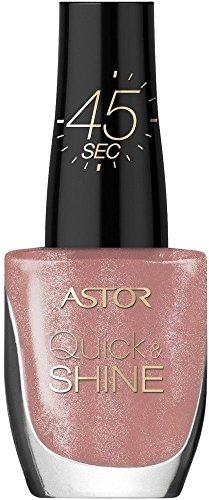 Astor Quick & Shine Nagellack, 103 Sweet home, schnell trocknend, 1er Pack (1 x 8 ml)