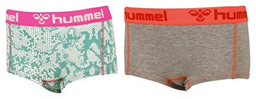 Hummel HERS 2PACK MINI SHORTS - SEA GREEN, Größe:XS