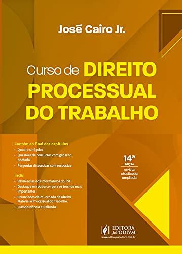 Curso De Direito Processual Do Trabalho - 14ed/21