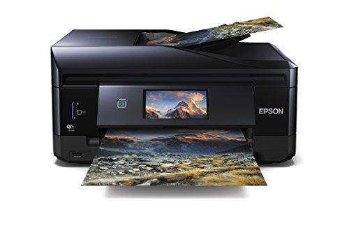 Epson Expression Premium XP-830 - Impresora multifunción (inyección de Tinta, WiFi Direct y Ethernet), Color Negro, Ya Disponible en Amazon Dash Replenishment