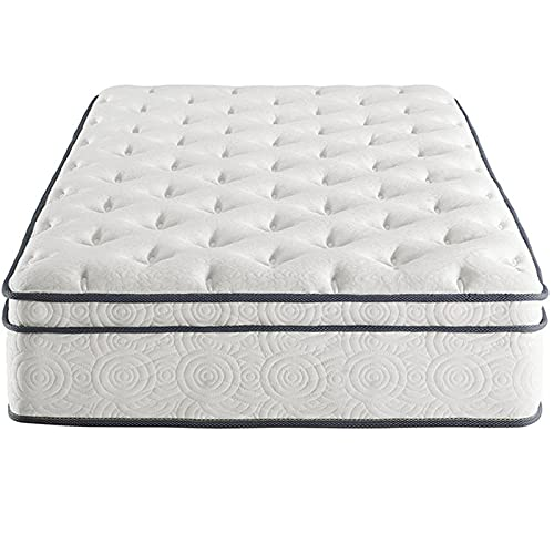 HXXXIN Best Price Mattress, Gel Memory Foam Full Mattress, Used for Cool Sleep and Decompression; Medium Firmness, Cashmere Fabric,180cmX200cmX25cm