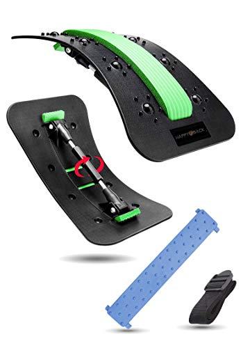 MyHappyGoods Estirador de espalda, masaje de espalda, estiramiento de espalda para la corrección de postura y alivio del dolor de espalda.