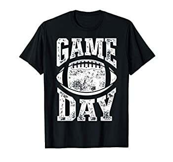 Football Game Day Funny Team Sports Gifts Men Women Vintage T-Shirt