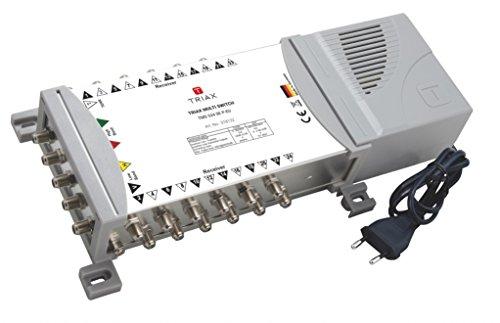 Triax TMS 524 SE P-EU Netzteil 4 SAT + 1 terr. Eingang, 24 Fach weiß