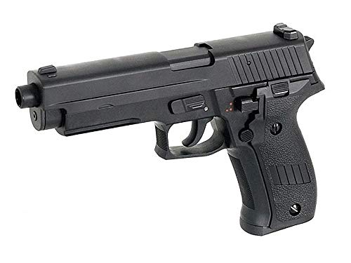 Cyma Airsoft P226 Pistola Eléctrica AEP Semi/Automática Cm122 (0.5 Joule) Cilindro Negro...