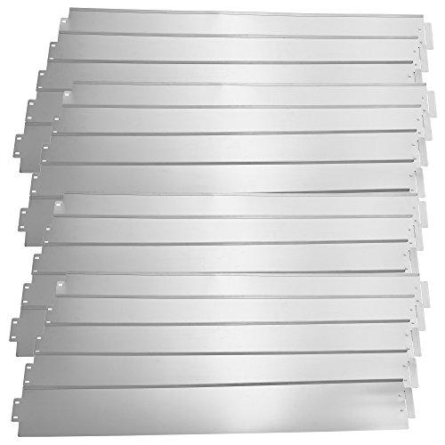 5,51 € // m Rasenkanten Metall für Beeteinfassung 118 x 12 cm