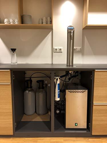 Elektronische 3-Wege-Sodaarmatur / Zapfhahn POINT DS mit TOUCH DISPLAY für Untertisch-Wassersprudelanlagen liefert stilles, gekühltes und Sprudelwasser. Top Qualität. Top Preis. - 7