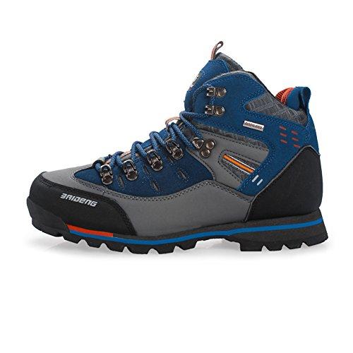 Botas de montaña para Hombre Cima mas Alta Trekking Zapatos al Aire Libre Antideslizante Respirable para Caminar Alpinismo Zapato por Gomnear