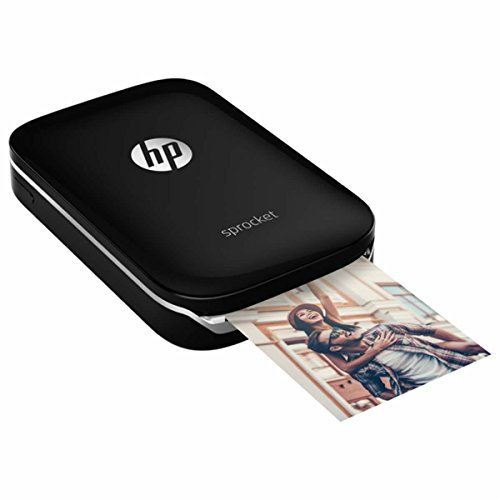 HP Z3Z92A#631 Sprocket Photo Printer, Color Negro
