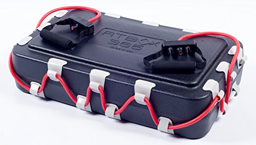 FitBox365 - Your Own Personal Gym in a Box, Includes Red Level 2 Resistance Tube & Handles  Made in USA (FitBox365 with Level 2 Tube - Red)