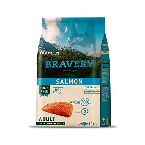 bravery Grain Free SALMÓN Razas Medianas Y Grandes
