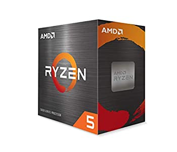 AMD Ryzen 5 5600X 6-core 12-Thread Unlocked Desktop Processor with Wraith Stealth Cooler
