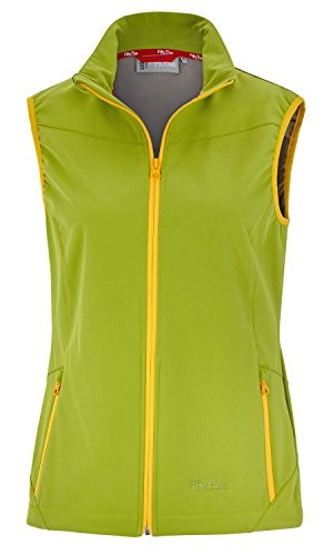 Fifty Five Softshell Weste Damen Lake Erie 38 Grün Windbreaker Bodywarmer