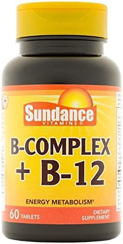 Sundance Cheap mail order sales B Complex Plus Sacramento Mall 60 B-12 Capsules Count