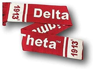 Delta Sigma Theta Winter Knit Scarf