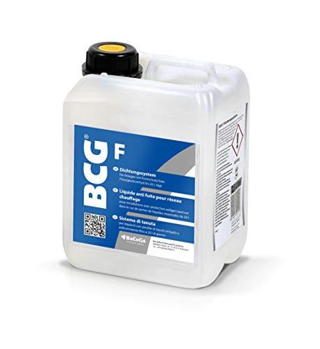 Flüssigdichtmittel BCG F (2,5 l) gegen Wasserverlust in Solaranlagen und Erdkollektoren