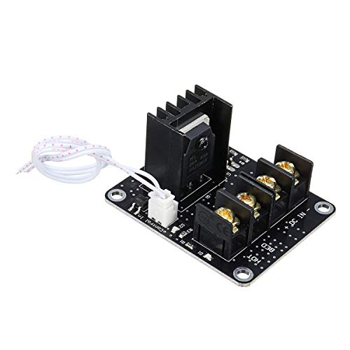ZhenHe High Power MOSFET Heated Bed Expansion Power Module MOS Tube for 3D Printer Prusa i3 Anet A8/A6 Printer Accessories