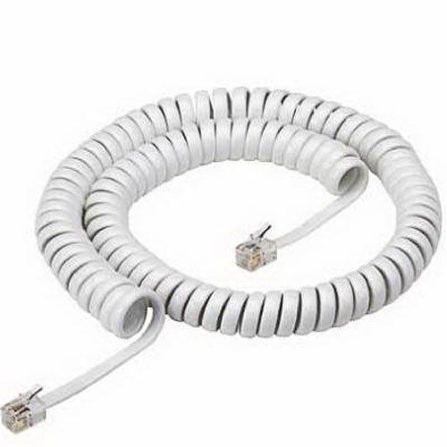 RCA TP280WN 12-Feet Handset Coil Cord, White