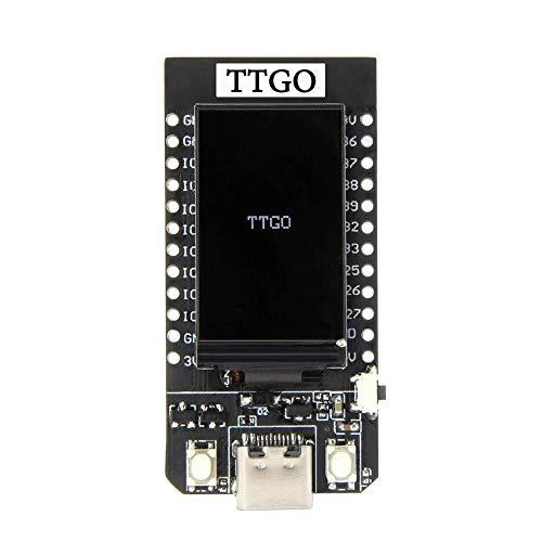 Busirsiz Ttgo T-Display Esp32 Wi-Fi y Junta de Desarrollo del módulo de 1,14 LCD