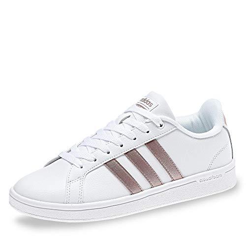 Adidas CF Advantage, Zapatillas de Deporte para Mujer, Blanco (Blanco 000), 43 1/3 EU