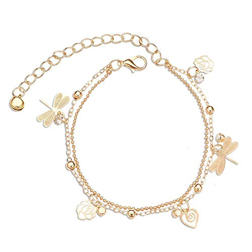 ORECO STEEL Boho Starfish Anklet Vintage Ankle Bracelet for Women Buddha Foot Jewelry Summer Barefoot Beach Anklet