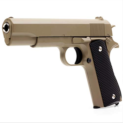 Germanseller Pistole Softair Vollmetall Erbsenpistole Galaxy G.13 Replika Colt 1911 Classic