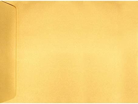 9 x 12 Open End Envelopes Selling rankings - Gold Perfect Max 68% OFF Qty 1000 f Metallic