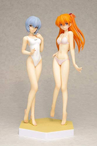 LJXGZY Figura de Anime para Neon Genesis Evangelion 、 EVA Ayanami Rei Action PVC Figurine Model Dolls Collection Decoracion Modelo Regalo de cumpleanos Estatua 16cm
