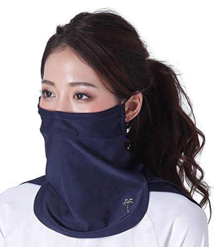 ICEPARDAL(アイスパーダル) 全10色柄 UVカットマスク フェイスガード イヤーフック付き 日焼け防止 冷感 UP...