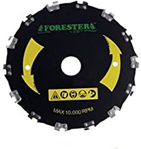 "Forester Chainsaw Tooth 9"" Brush Blade"