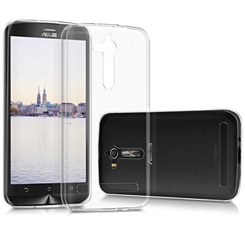 kwmobile Hülle kompatibel mit Asus Zenfone Go 2017 (ZB500KL) - Silikon Handyhülle transparent - Handy Hülle in Transparent