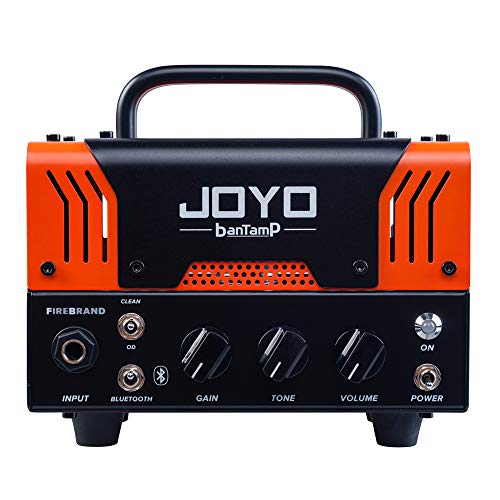 JOYO BanTamP FireBrand Electric Guitar Amp Head with Loud Heavy Distortion AMP Mini Amplifier Head for Electric Guitar Fierce & Clear Aggressive Boxer