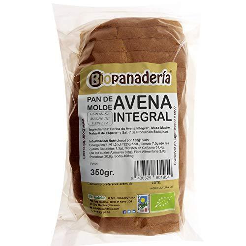 Biopanadería Pan de Molde de Avena Integral con Masa Madre de Espelta Ecológico Gourmet