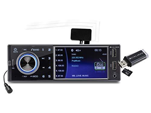 Caliber RMD402DAB-BT autoradio mit DAB+ und Bluetooth