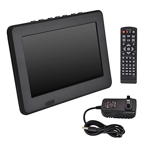Portable 7In Digital Color Tv,Rechargeable 16:9 1080P Led Digital Tv,Support MOV, AVI, WMV, MP4, FLV, MPEG1-4, MP3,for Indoor/Outdoor Entertainment.(U.S. regulations)