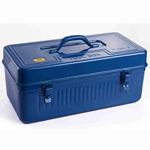 Caja de herramientas Domésticos herramienta hierro cajas grandes Hardware Juegos de herramientas múltiples funciones del coche de la herramienta portátil cofres de pintura Proceso Herramientas Cajas d